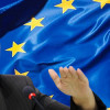 Uyghur leader tells MEPs she is willing to talk to Beijing
