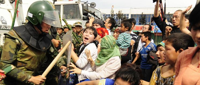 China tortures the Uyghur people