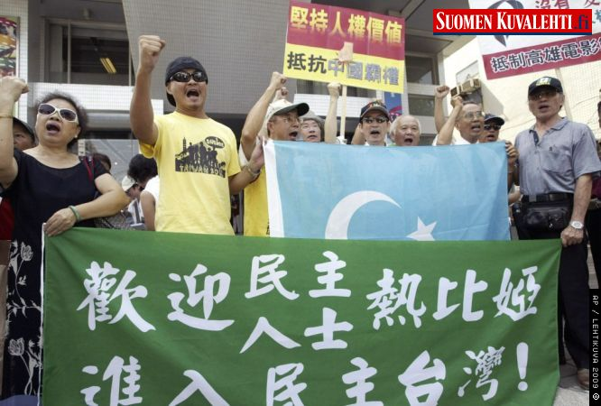 Uighur leader accepts invitation to visit Taiwan
