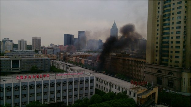 Attack in Urumqi Kills 31 and Injures 94