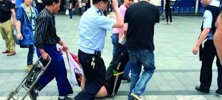 Oeigoeren Guangzhou 2014