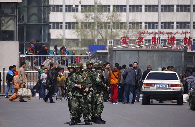 Uygur Özerk Bölgesinde patlama