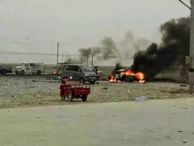 新疆轮台连环爆造成逾百死伤 官方公布11起涉疆宗教出版案