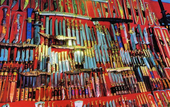 Uighur knives get a bad rap in China