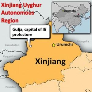 carcere yinin ghulja uighur