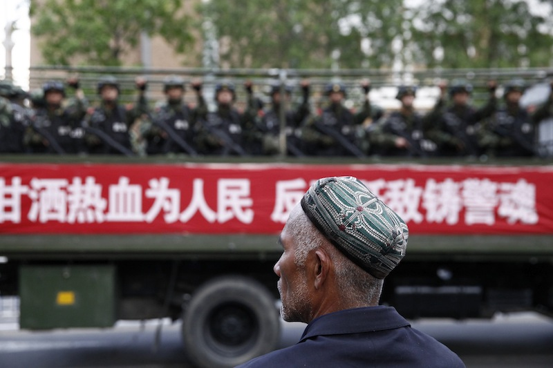 Pakistan says will help China fight Muslim Uighurs