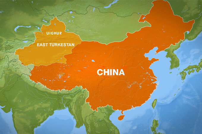 THE UIGHURS IN THE PEOPLE'S REPUBLIC OF CHINA