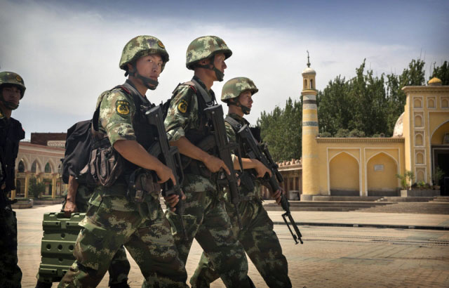 Hacking, Shooting Incident Leaves 17 Dead in Xinjiang's Aksu Prefecture