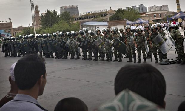 Во время атаки мусульман на КПП в Китае погибли 18 человек