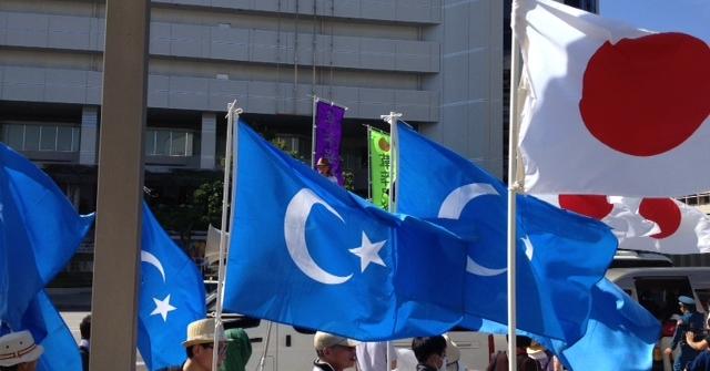 Japonya Doğu Türkistan için ayakta