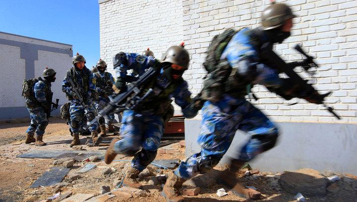 В Китае при нападении на блокпост погибли 18 человек