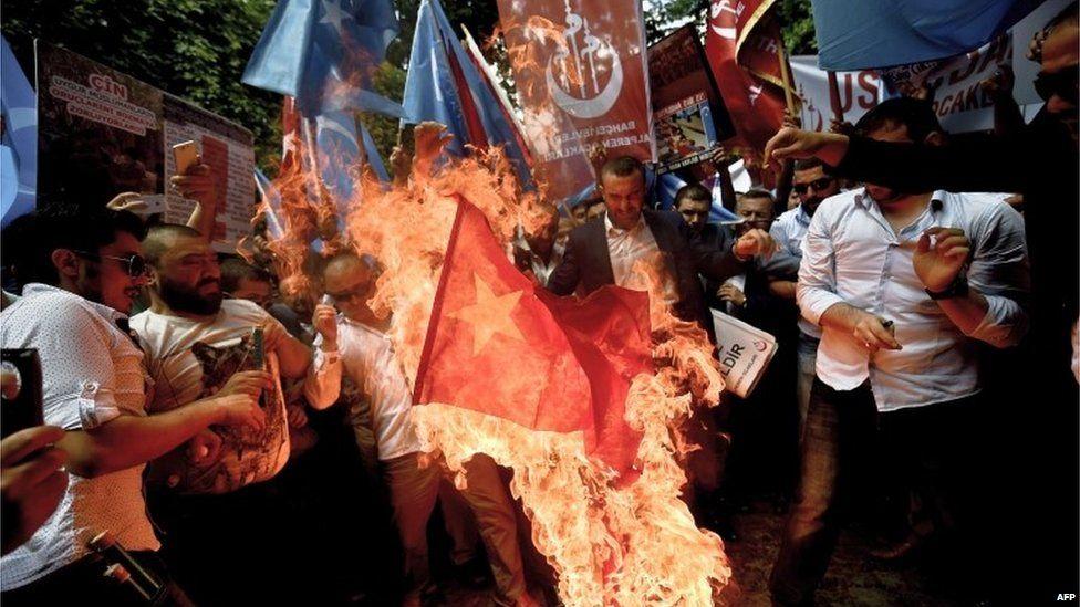 中国土耳其关系因维吾尔族议题陷入紧张
