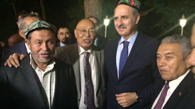 Turkiye muawin bash ministiri numan qurtulmush uyghurlar toghrisida üch turluk chaqiriq qildi