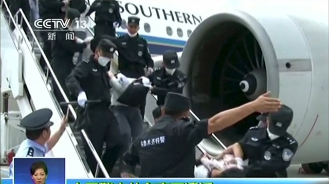 泰国将派团赴中探访遣返维人 中国外交部指责偷渡者参加圣战