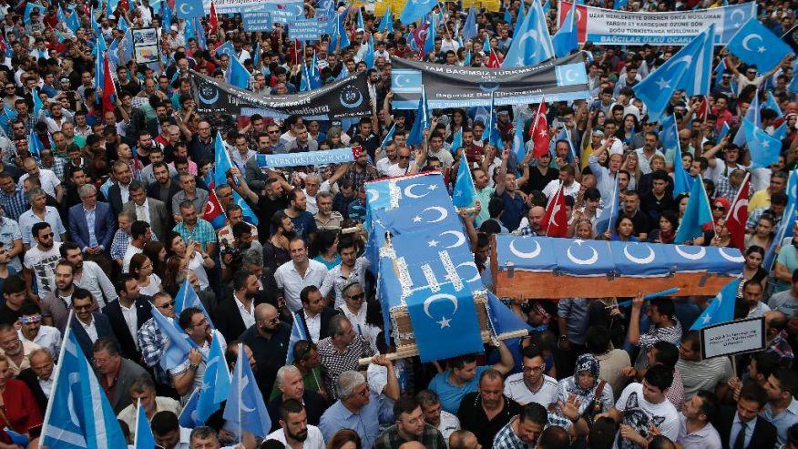 土耳其发生反华示威 中国公开否认新疆民族问题