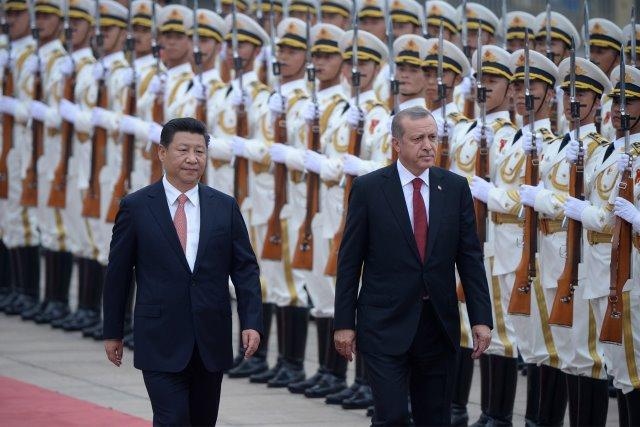 Wat we niet te zien krijgen: China's woede over Erdogans strategie