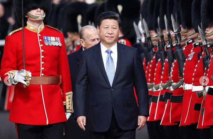 Uighur leader says blood on Britain's red carpet welcome for China's Xi