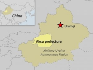 Forced Labor For Uyghurs in Xinjiang Township