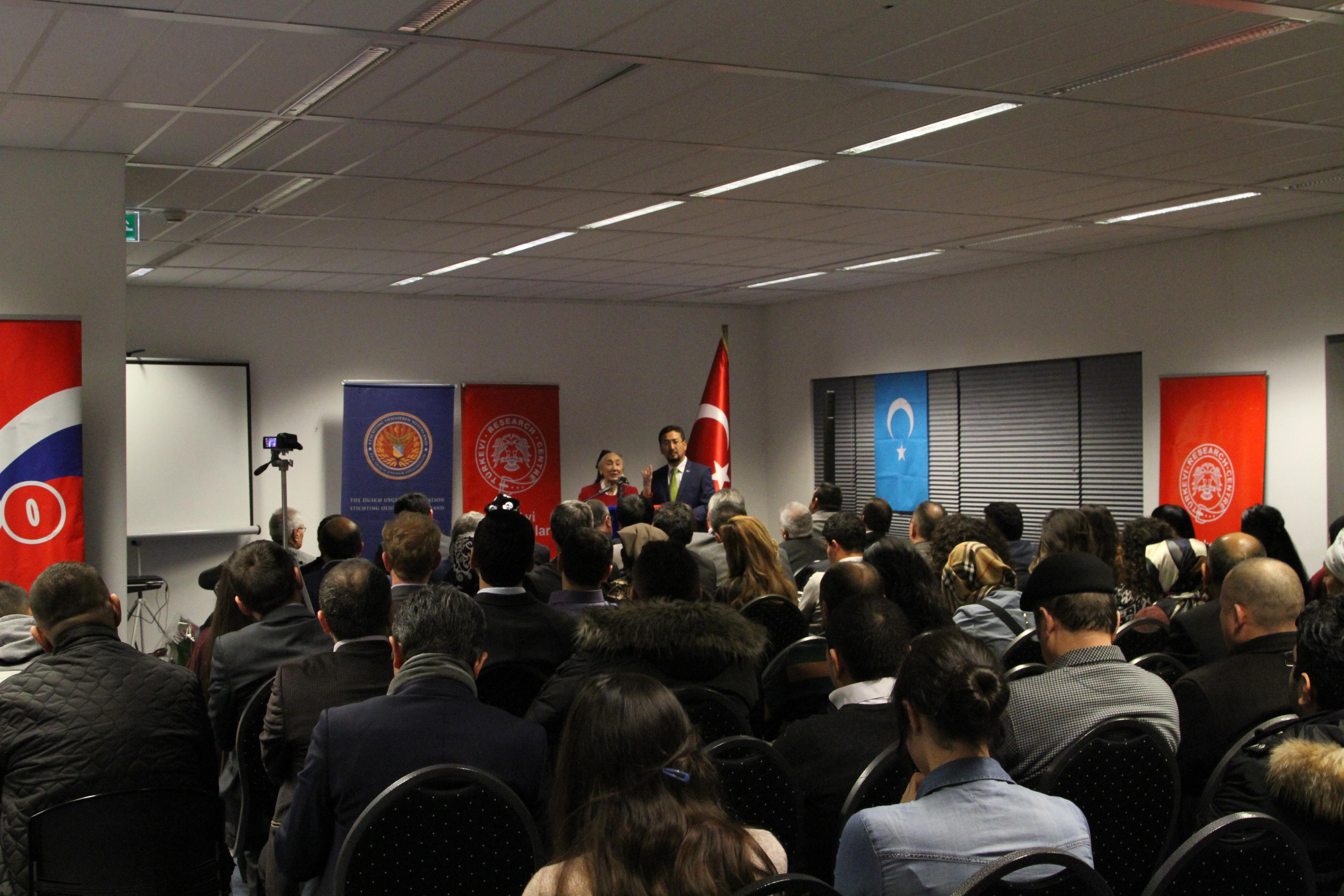 Amsterdam'da Uygur lider Rabia Kadir için Sürgünde 10. Yıl Anma Programı Yapıldı