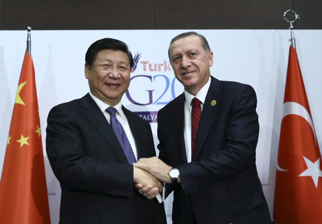 TURKEY, CHINA PLEDGE COUNTER-TERRORISM COOPERATION