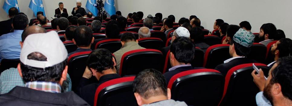 «Sherqiy türkistan yashlirining mesuliyetliri» dégen témida yighin échildi