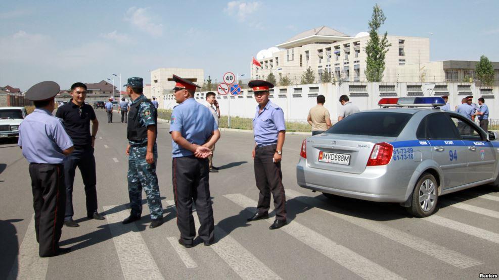 В киргизском теракте нашли уйгурский след