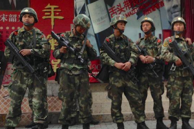 Xinjiang attack: vehicle rams into government compound killing several