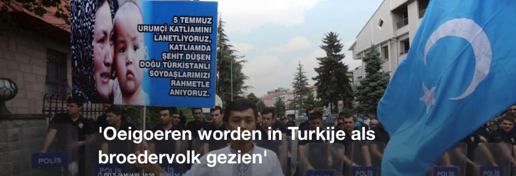 'Oeigoeren worden in Turkije als broedervolk gezien'