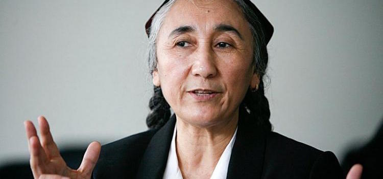 TAIPEI, Taiwan -- Uighur activist Rebiya Kadeer has accepted the invitation to visit Taiwan 2017