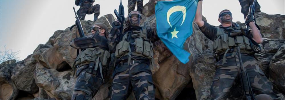 约5千维吾尔人在叙利亚参战 В Сирии воевало 5000 китайских уйгуров Syria says up to 5,000 Chinese Uighurs fighting in militant groups uyghur-comando-2017
