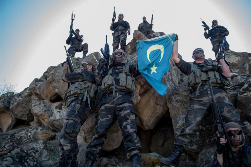 约5千维吾尔人在叙利亚参战