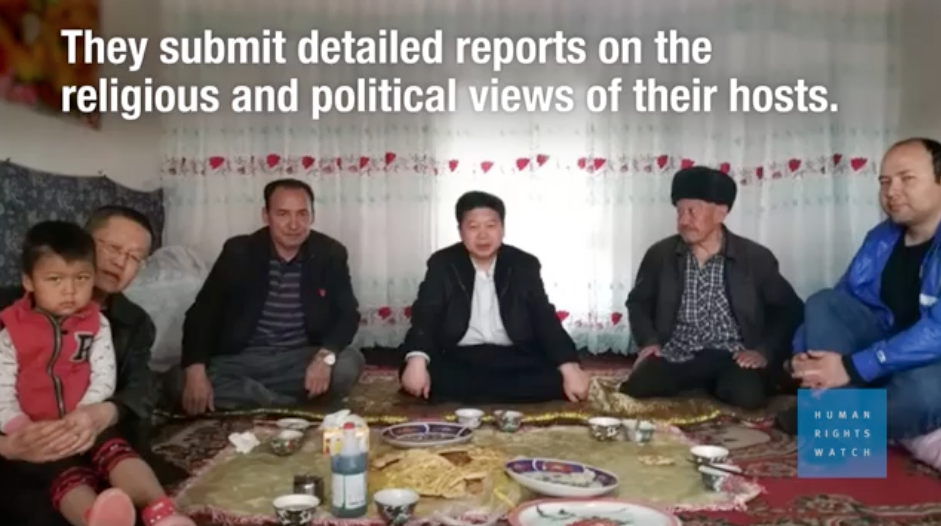 China: Visiting Officials Occupy Homes in Muslim Region