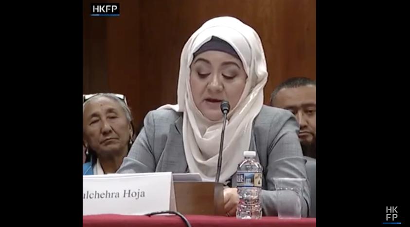Elke Uyghur-moslim heeft familie in de gevangenkampen in China, zegt de Amerikaanse journalist Gulchehra Hoja