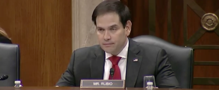 Rubio Chairs China Commission Hearing on Xinjiang Mensenrechtencrisis