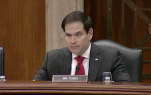 Rubio Chairs China Commission Hearing on Xinjiang's Human Rights Crisis 2018