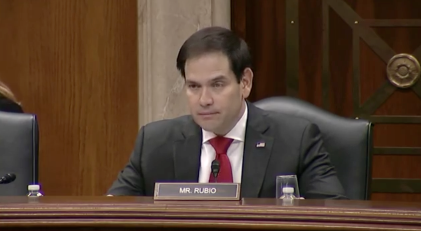 Rubio Chairs China Commission Hearing on Xinjiang's Human Rights Crisis