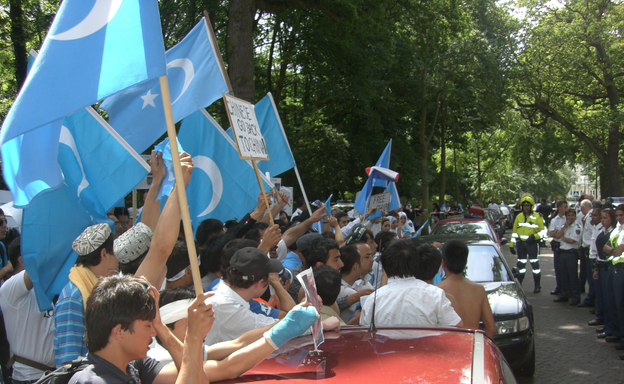 As friends and relatives across China reunite for National Day, internment camps separate Uyghur families