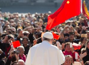 Pope welcomes Communist bishop to the Synod rome