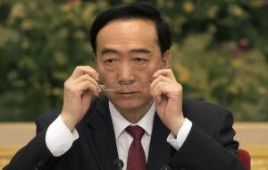 15国驻华大使要求见新疆党委书记陈全国 中国认为要求无礼