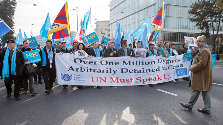 China Under Fire at UN Rights Review For Uyghur Re-Education Camps
