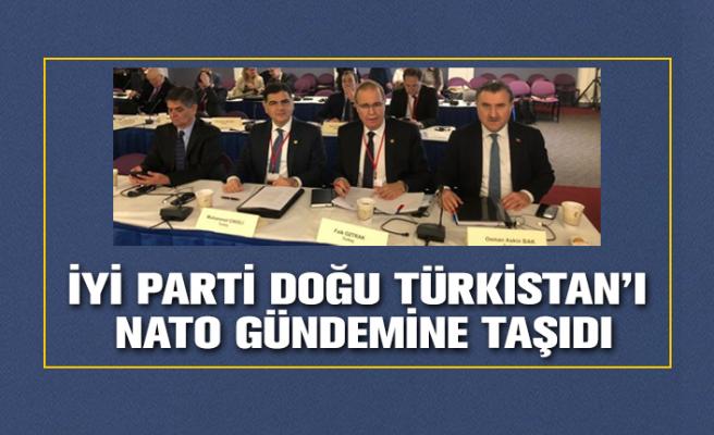 İYİ Parti Doğu Türkistan'ı Washington'da NATO gündeme getirdi.