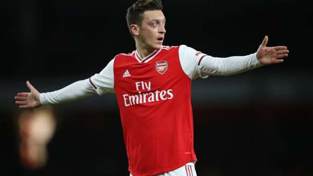 Arsenal distance themselves from Mesut Özil comments on Uighurs' plight