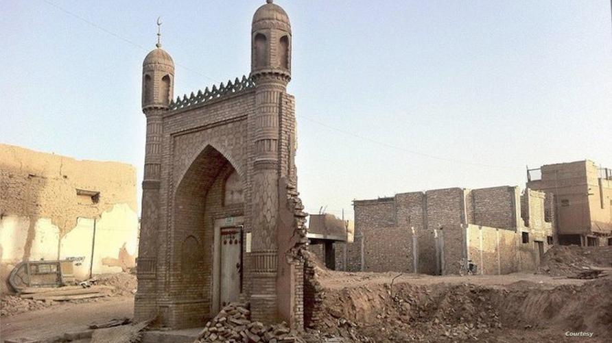 US: China Targets Uighur Mosques to Eradicate Minority's Faith