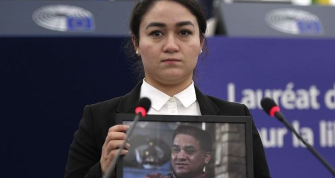 Ilham Tohti Uighur activist's daughter fears for his life