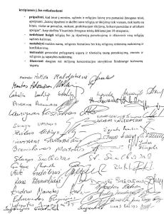 Members of Lithuanian Parliament to Xi Jinping Stop Persecuting Uyghurs, Tibetans, The Church of Almighty God, Falun Gong EU Russia China flag logo ccp
